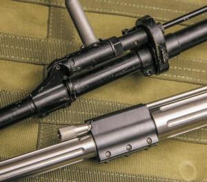 Газ-блок СВД имеет два положения, переключаемых фланцем гильзы. Регулируемый газ-блок Colt Competition позволяет тонко настраивать работу автоматики без применения инструментов