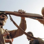 Карабах, 1991 г.: старая винтовка в горах — все еще грозное оружие