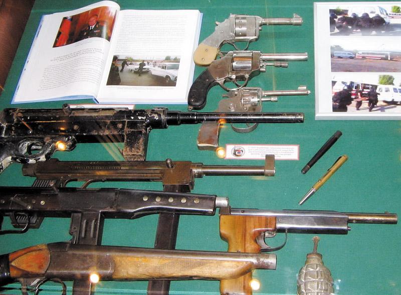 Карабахский конфликт, самодельное оружие 1990-91 гг. — музей истории органов безопасности Армении