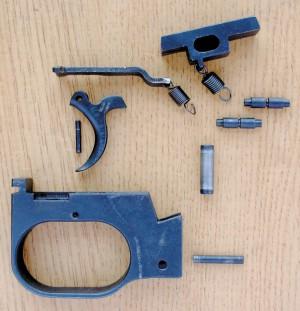Детали спускового механизма К6-92