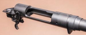 Ресивер с лапой отдачи, ствольной гайкой, спусковым и предохранительными механизмами