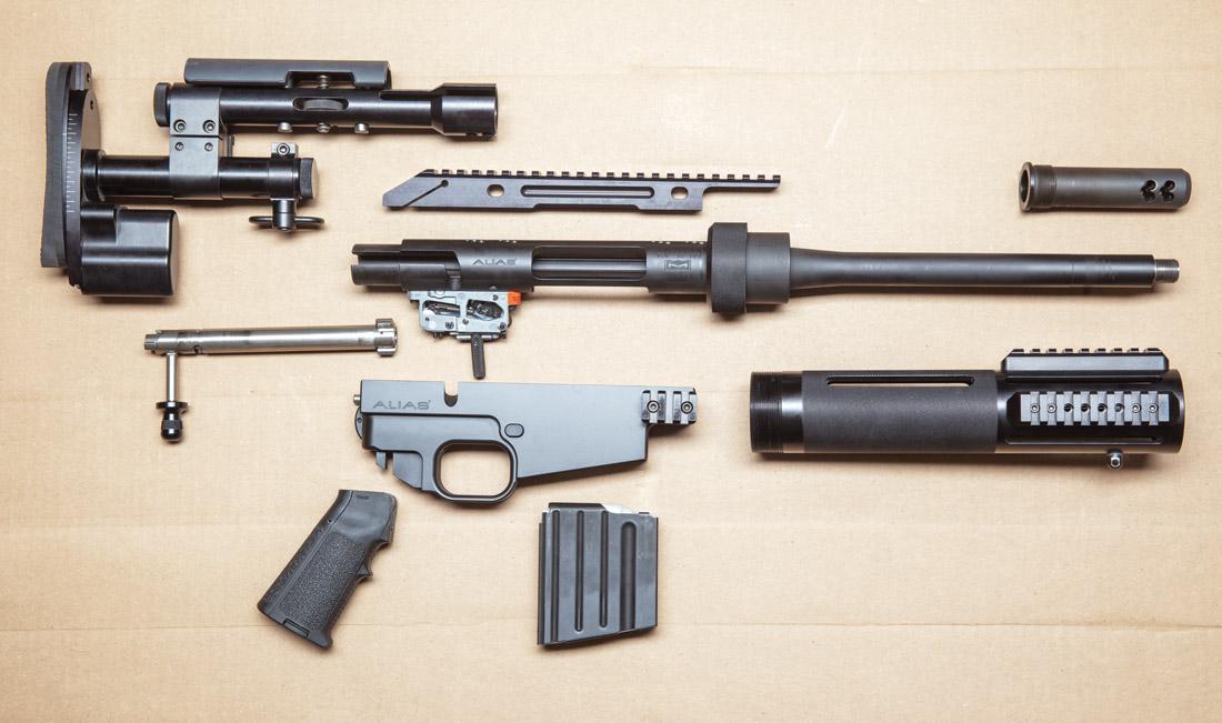 McMillan Alias CS5 не зря называется модульной винтовкой: ее разборка и сборка не вызывают никаких затруднений и осуществляются в течение 5 минут