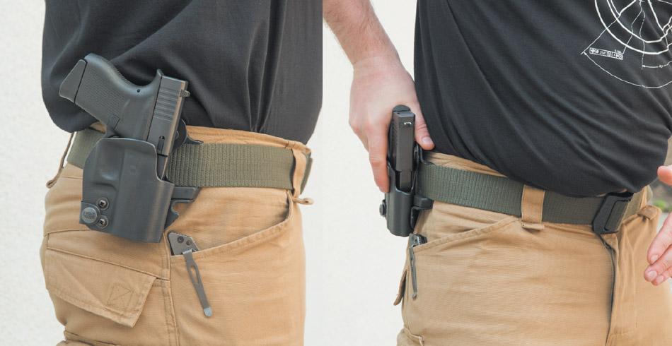 Даже карманный пистолет лучше носить вкобуре — например, от компании Front Line