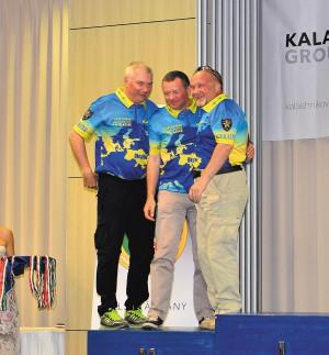 Сборная Украины на чемпионате Европы по карабину (2015 г.)