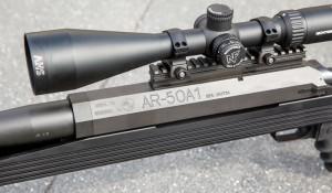 Стальной ресивер винтовки имеет 8-гранное сечение с толщиной стенок 8 мм. Его прочность явно избыточна даже для .50 BMG