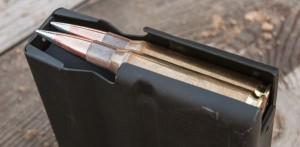 Несмотря на большую длину пули A-Max, патроны Hornady имеют стандартную магазинную длину