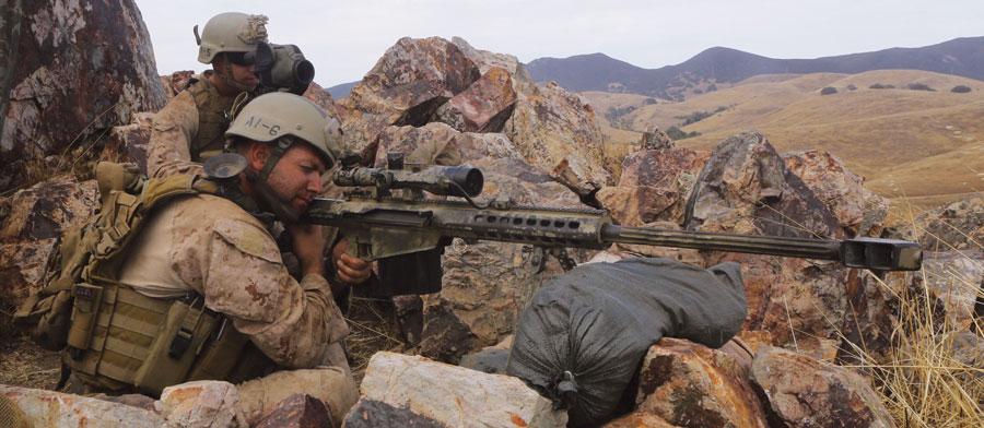 Самозарядки Barrett M107 и M82— грозное «антиматериальное», но не высокоточное оружие