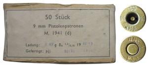 Датские «парабеллумы» периода немецкой оккупации, выпущенные компанией H?rens Ammunitionsarsenal в г.Копенгагене