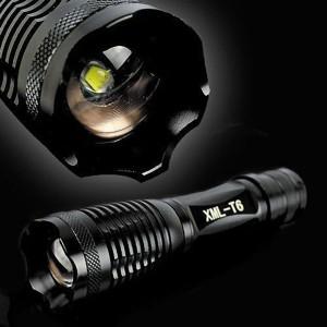Типичный линзовый zoom-фонарь низкого качества