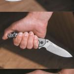 Рукоятка Adventure обеспечивает надежное удержание при любом хвате — идаже в случае, когда закрытый нож используется для нанесения ударов