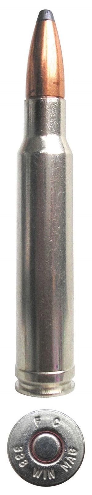 Патрон .338 Winchester Magnum производства компании Federal Cartridge Company