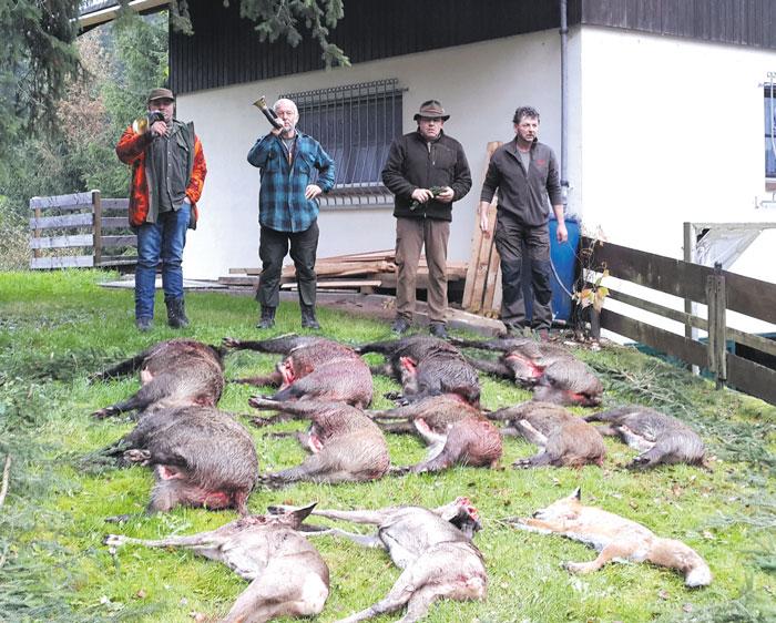 Tableau de chasse