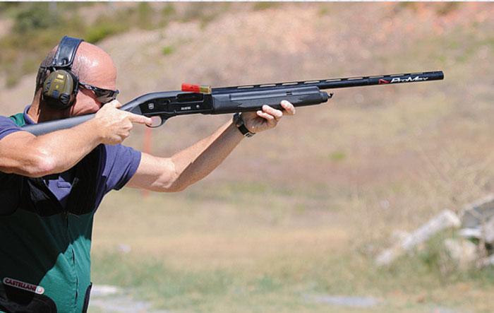 Тестовый отстрел патронами Bornaghi на стрельбище около Стамбула