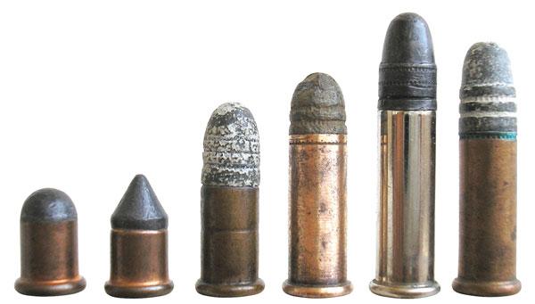 «Эволюция» 22-го калибра: .22 BB cap, .22 СB cap, .22 Short, .22 Long, .22 Extra Long, .22 Long Rifle
