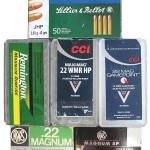 Варианты коробок для патронов .22 WMR