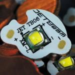 Мощный светодиод CREE XM-L — пламенное сердце фонаря JETBeam