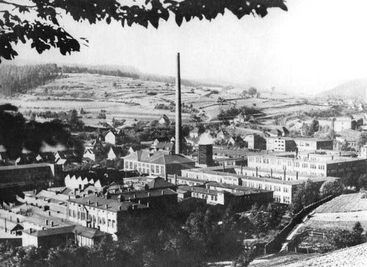 Завод Gustloff-Werke — Waffenwerk Suhl, где в 1946 г. советская комиссия отбирала немецких специалистов для работы в СССР