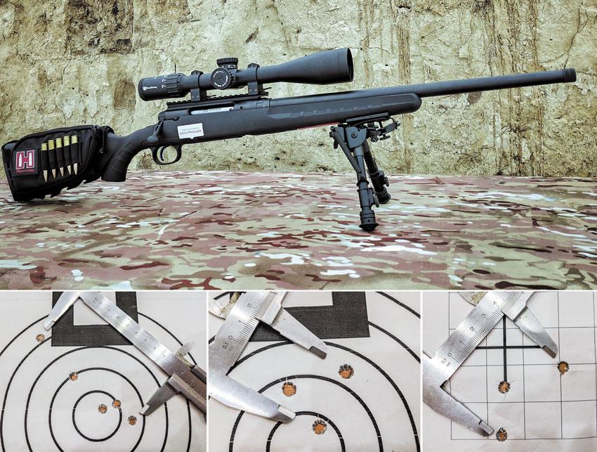 Savage Axis II Heavy Barrel в .308-м калибре — самая доступная винтовка для высокоточной стрельбы. Но кучно стрелять ей мешают различные компромиссы