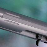 На колодке вырезаны пазы для монтажа баз для установки коллиматора или оптического прицела