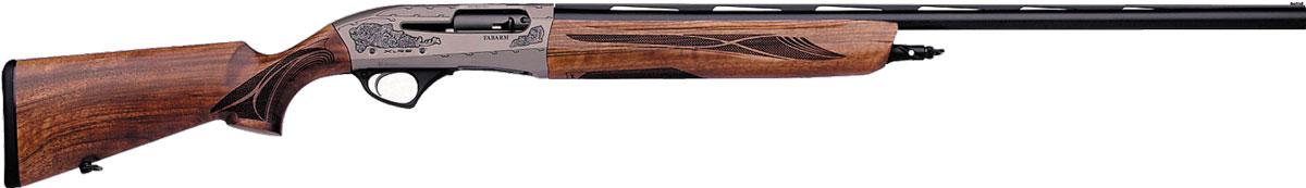 Модель XLR5 (вверху) и Lion H38. В линейке Fabarm модель L4S находится между двух этих ружей