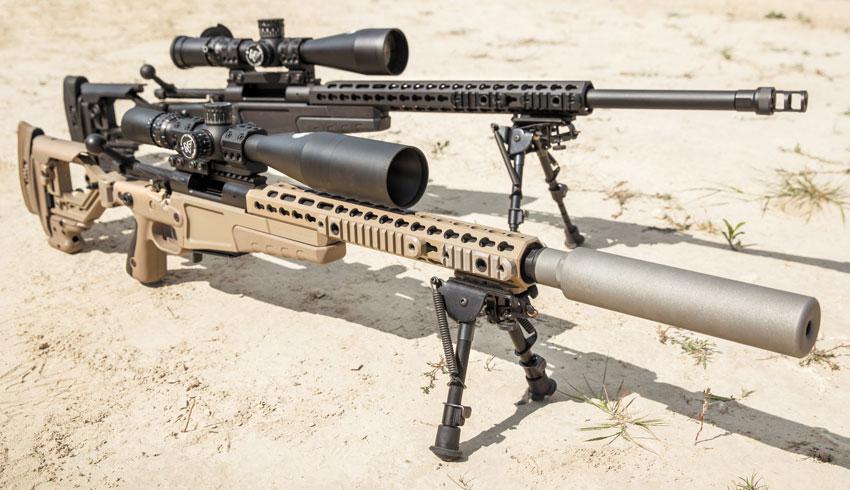 Короткий ствол Surgeon CSR позволяет сохранить общие габариты винтовки небольшими— даже с установленным саунд-модератором Ase Utra