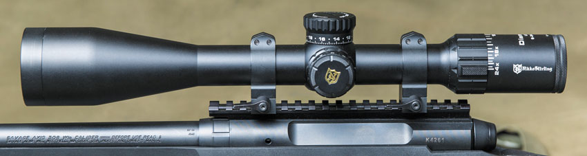 Выбор бюджетного прицела для высокоточной стрельбы— даже более сложная задача, чем выбор винтовки. Модель Nikko Stirling 6-24x50 Diamond Long Range отличается очень неплохой оптикой и функциональностью при крайне невысокой стоимости