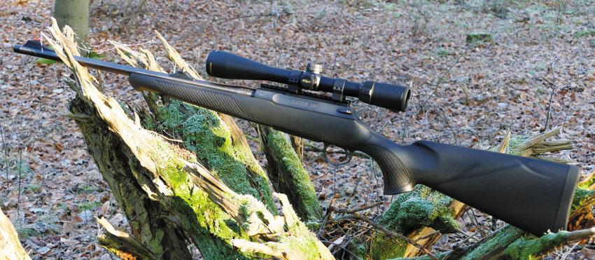 Элегантность линий — отличительная черта всех винтовок Sauer