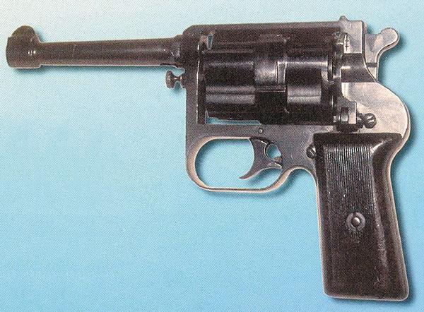 Бесшумный револьвер системы Гуревича