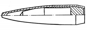 Схема пули 7Н24М