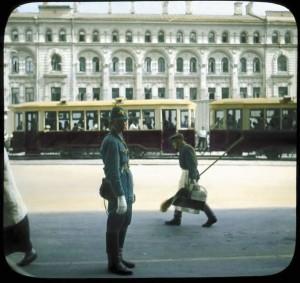 Постовой милиционер (Москва, 1930-е)