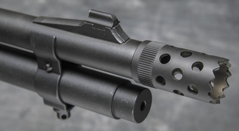 Насадка для выбивания замков на Remington 870 Express Tactical