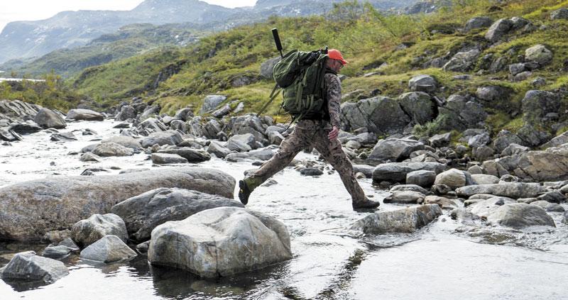 За оленями охотники выходят налегке…