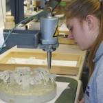 Подготовка призм к шлифованию ровных поверхностей