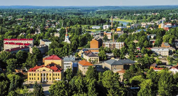 г. Валда, Эстония