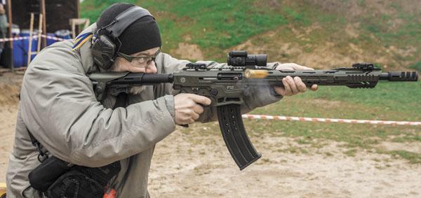 На рубеже пулевого мини-матча