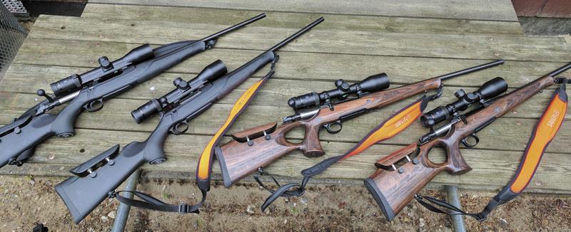Оружие участников: Sauer S 404 Synchro XT и Sauer S 101 GTI. Прицелы — Zeiss Conquest V6 2-12x50