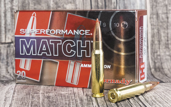 До недавних пор самые точные из фабричных патронов Hornady в большинстве случаев снаряжались пулей A-Max