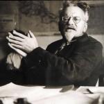 Лев Троцкий незадолго до убийства