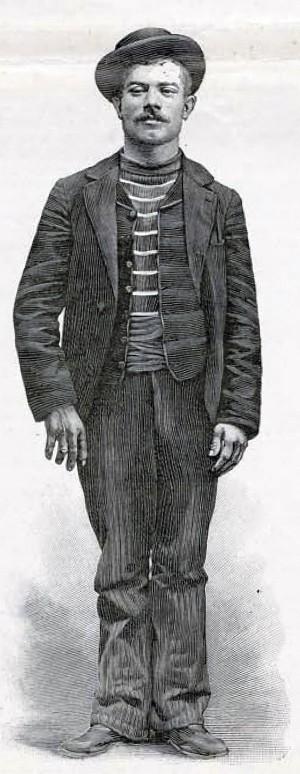 Луиджи Лукени, 162см — на 10 см ниже императрицы Елизаветы