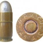 Патрон Ball Cartridge, Model of 1911, изготовленный в 1913г. компанией Winchester Repeating ArmsCo. по заказу американской армии для испытаний новых пистолетов производства фирмы Colt