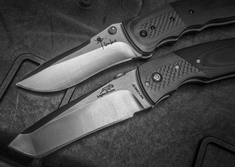 Shock Wave (Кирби Ламберта) и Catch Dog (Грега Лайтфута), впечатлившие американских любителей ножей, теперь порадуют и отечественного потребителя