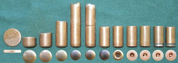 Технологическая последовательность изготовления биметаллической гильзы .45 АСР производства Новосибирского патронного завода