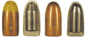Прототип пули Пст с желтой вершиной в сравнении с серийной пулей Пст
