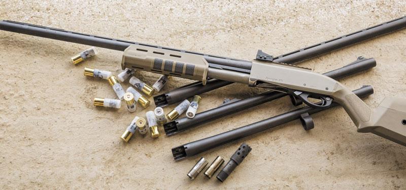 Набор юного испытателя Remington 870 (мишени, дощечки и дробовые патроны остались за кадром)