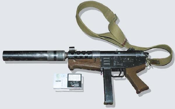 Пистолет-пулемет из 1999г., презентованный П.Губаревым в июле 2014 г.