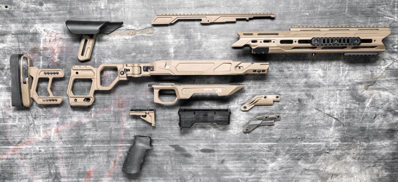 Шасси Cadex Dual Strike имеет модульную конструкцию, великолепно продумано и очень качественно выполнено