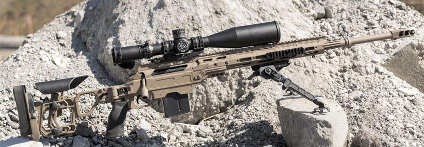 «Когти» на сошках делают винтовку стабильной и устойчивой на любой поверхности, которую не жалко поцарапать