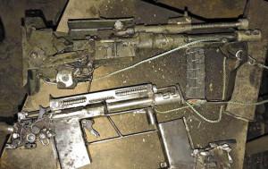 10-мм гладкоствольный «автомат» и пистолет-пулемет под патрон 7,62х25
