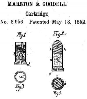 Рисунок из патента № 8956 (1852 г.) Марстона и Гуделла