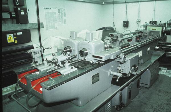 Станки Pratt & Whitney серии «B» для нарезки стволов методом шпалерного строгания созданы вначале Второй мировой войны— и до сих пор в строю